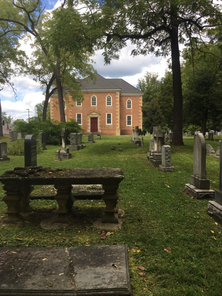 Church from Cemetery