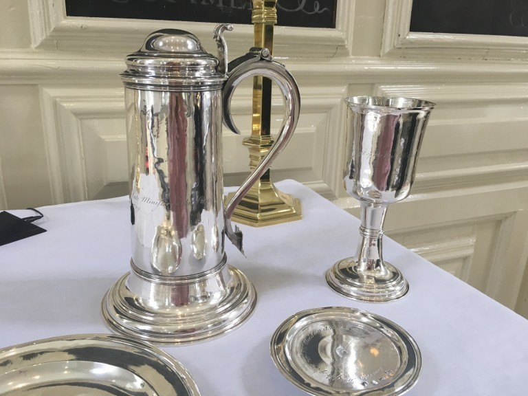 Aquia Church Communion Set